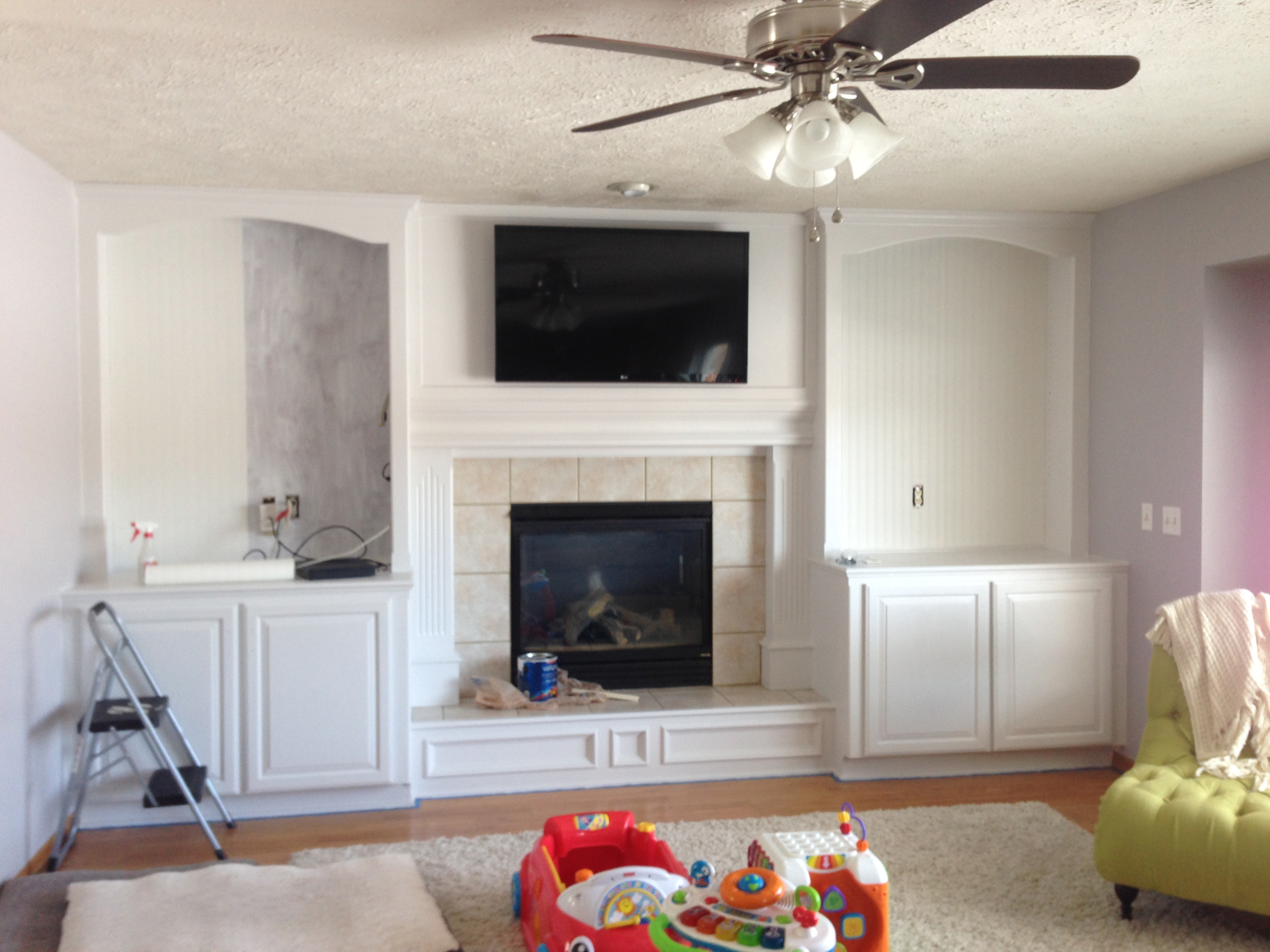 diy fireplace makeover dact us